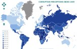 Рейтинг восприятия коррупции Transparency International 2009