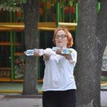 Пока сердце бьется: как 75-летняя женщина проводит бесплатные занятия по фитнесу в Кропивницком