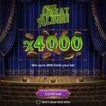 Казино Адмирал, игровой клуб, игровые автоматы, азартные игры на деньги, слоты, The Great Albini