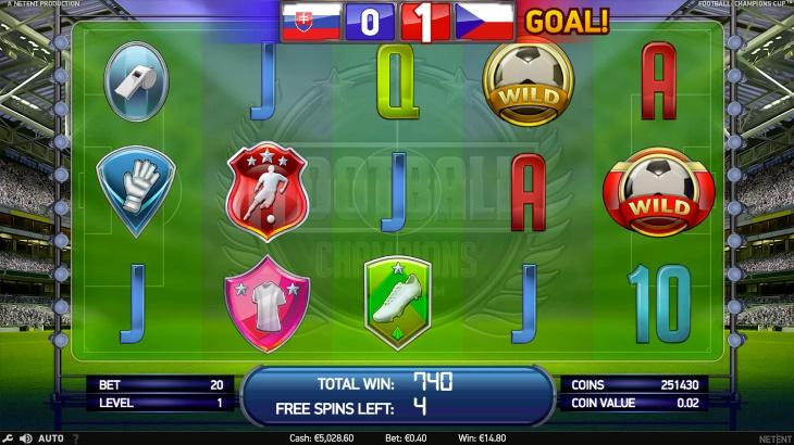 Бесплатные игровые автоматы Вулкан, играть в азартные игры на реальные деньги, онлайн казино, Football Champions Cup 2, Vulkanstars.zone