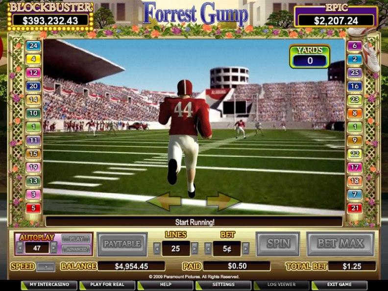 Играть в игровые автоматы, онлайн казино, игровые слоты, азартные игры, Вулкан, Forrest Gump