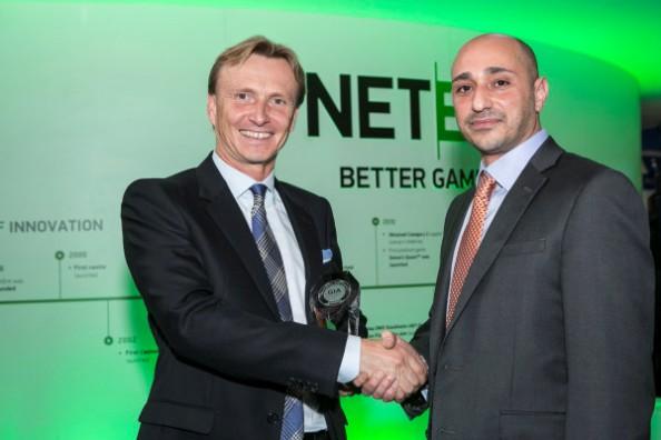 Игровые автоматы, Net Entertainment, онлайн казино, азартные игры, Пер Эриксон, Gaming Intelligence Awards