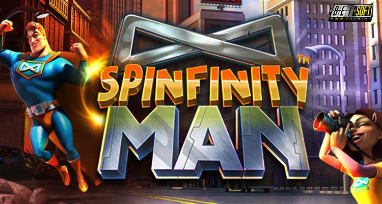 Игровой автомат Spinfinity Man, казино Вулкан 24 мобильная версия, играть на деньги, азартные игры