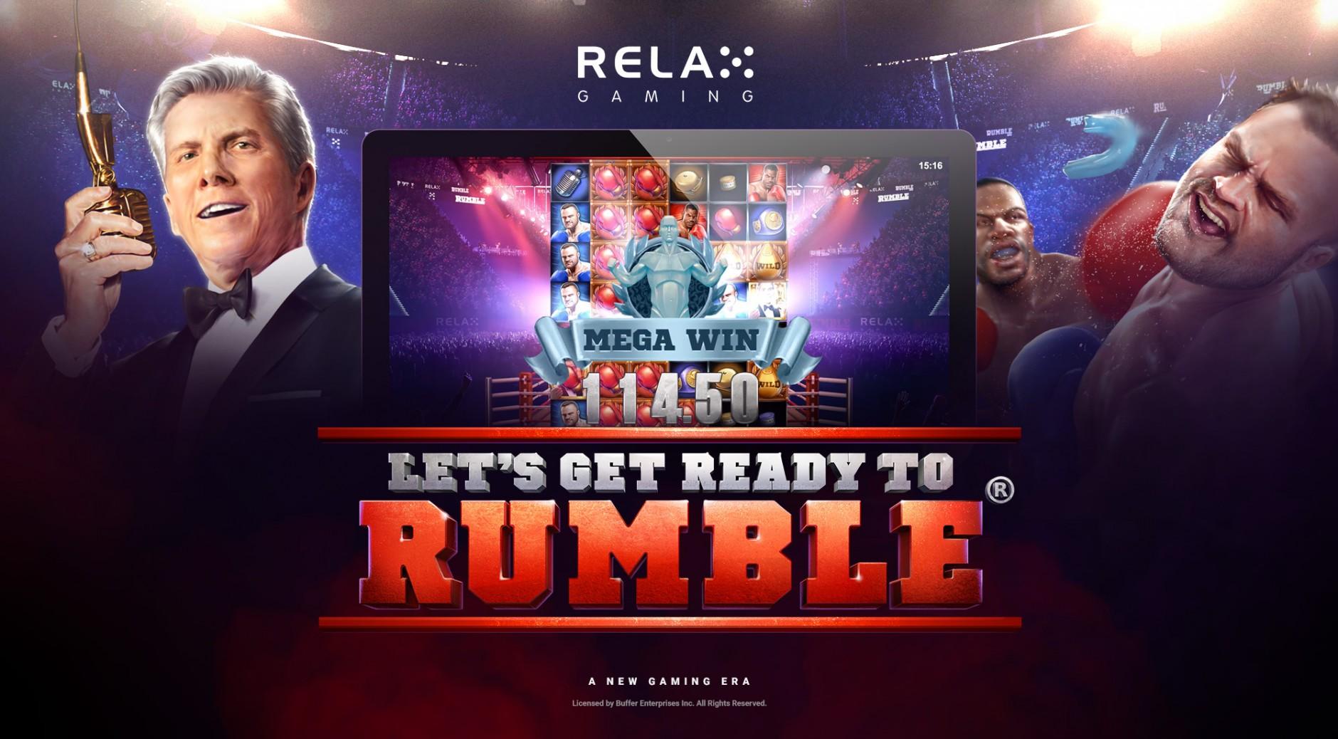Онлайн казино, Вулкан Гранд, игровой автомат Let's Get Ready to Rumble, играть на деньги, азартные игры, игровые слоты, Relax Gaming