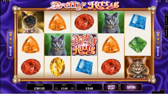 Игровые автоматы Вулкан, онлайн казино, игровой клуб, азартные игры, игровые слоты, Pretty Kitty, Vip-Vulkan.com